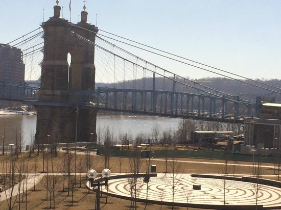 Moerlein Lager House: View Of Ohio River And Bridge