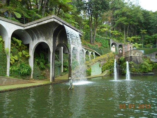 Monte Palace Tropical Garden : центральная часть парка
