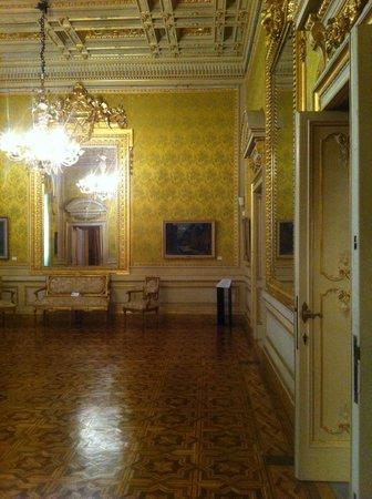 Museo Civico Giovanni Fattori a Livorno, una sala al primo piano