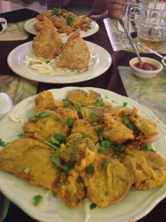 Tandoori Nights: Vegetable pakora