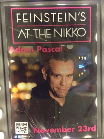 Feinstein's at the Nikko: Adam Pascal