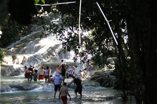 Dunn's River Falls and Park: cascades 1