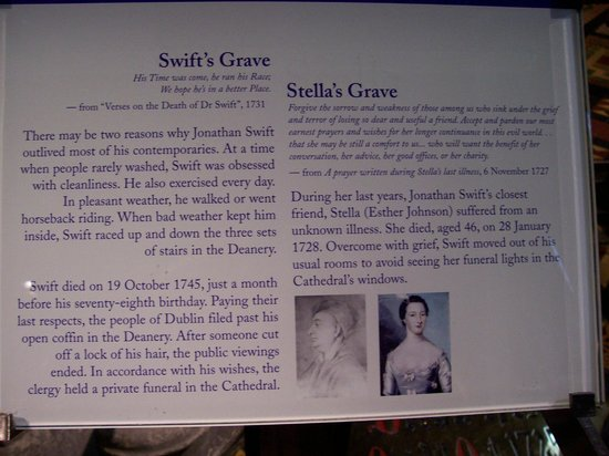 Saint Patrick's Cathedral: The Story of Jonathan Swift & Stella