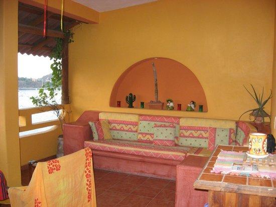 Casa Adriana: Living area