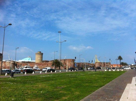 Fortezza Vecchia a Livorno, esterno