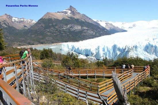 Perito Moreno Glacier: Vista desde arriba