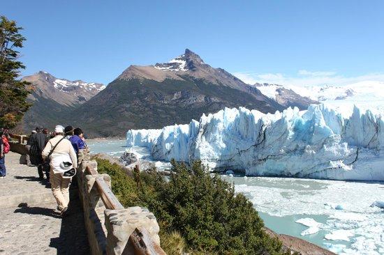 Perito Moreno Glacier: Caminando por la pasarela