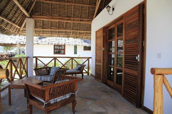 Next Paradise Boutique Resort: Terrasse