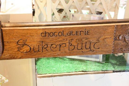 Chocolaterie Sukerbuyc: Entrada a la tienda