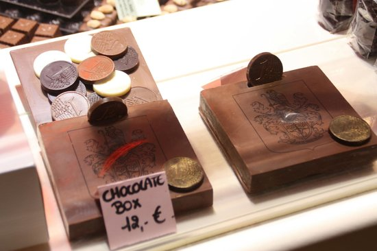 Chocolaterie Sukerbuyc: Diseños con chocolate