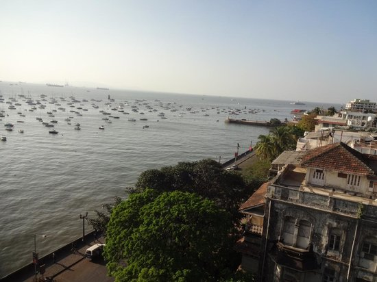 The Taj Mahal Palace: The view from my room