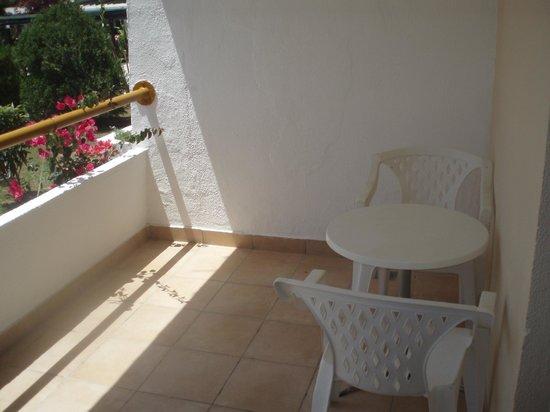 Tigaki Beach Hotel: Balcon