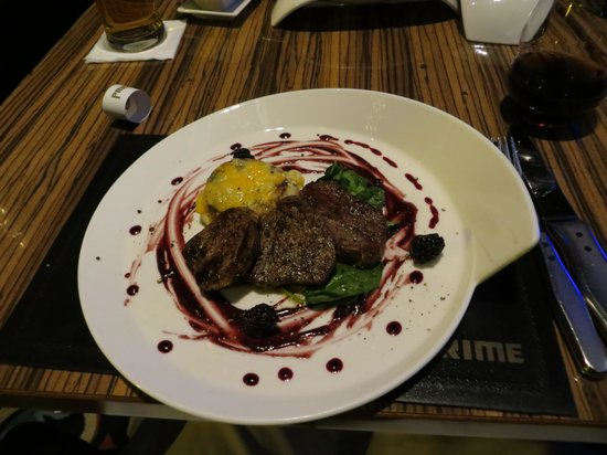 Prime Steak and Wine: one of the dish