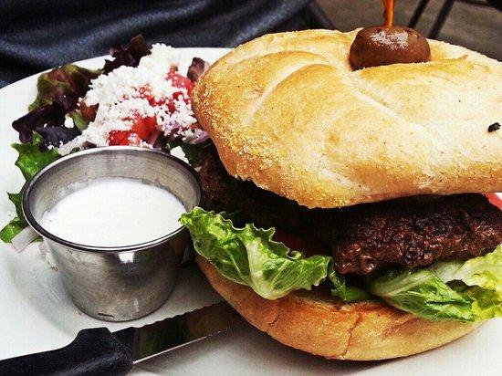 1285 Restobar: Pablos Stuffed burger