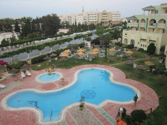 Houria Palace Hotel: piscine