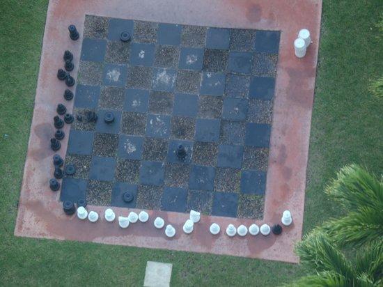 Grand Lucayan, Bahamas: life size chess