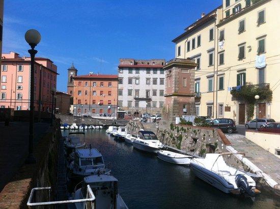 Venezia Nuova a Livorno, scorcio
