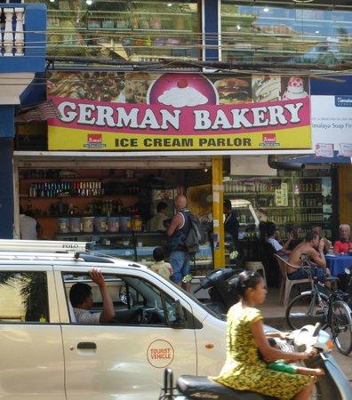 German Bakery   вот оно кафе,любимое,утреннее