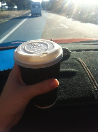 Outback Cafe : Their large coffee :)