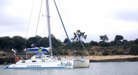 Azulile : en escale sur l'île d'Aix ...une petite plage ...le rêve ...