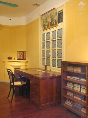 Ho Chi Minh Presidential Palace Historical Site: His office