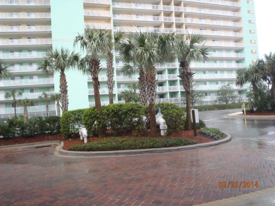 Wyndham Vacation Resorts Panama City Beach: Front of check in side