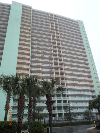 Wyndham Vacation Resorts Panama City Beach : One of the high rise unit building