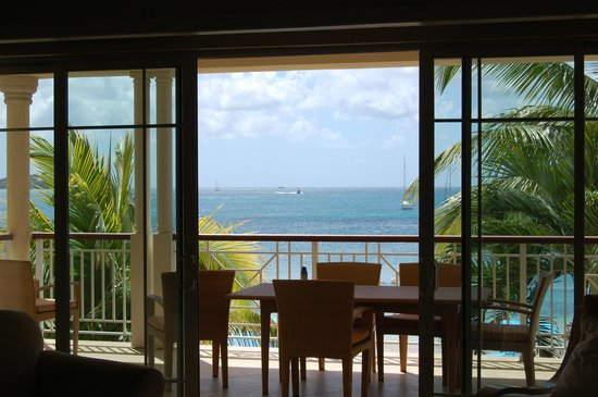 The Landings St. Lucia : view of the ocean from our suite