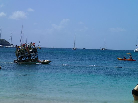 The Landings St. Lucia: the fruit boat that came to resort every day