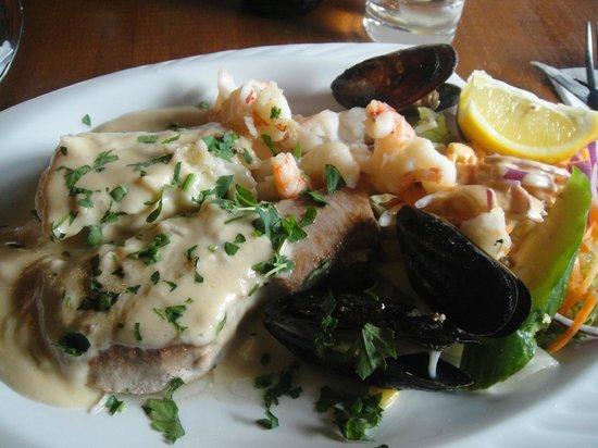 El Toro Negro: my plate