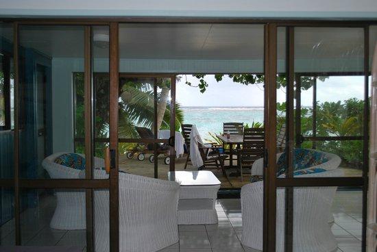 Sands Villas : 2nd Lounge Area in Vaka Villa