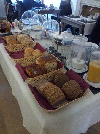 Hotel De Pauw : Desayuno2