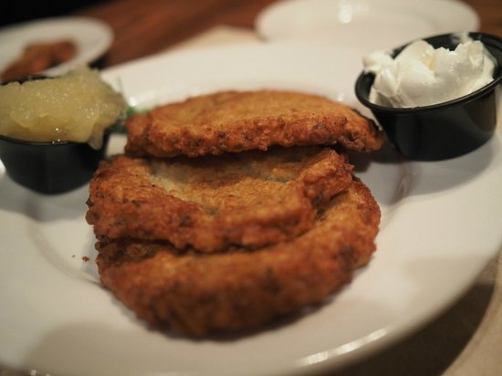 The Bavarian Lodge: German potato pancakes