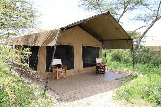 Ubuntu Camp, Asilia Africa: Unser Zelt im Ubuntu Camp