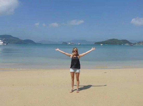 Pullman Phuket Panwa Beach Resort: Beach by aquarium