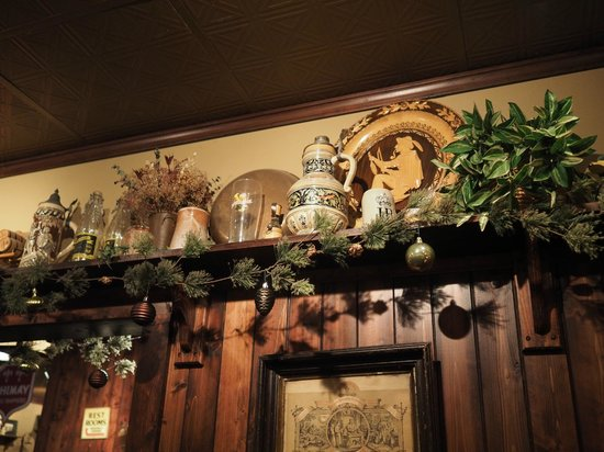 """The Bavarian Lodge: Some """"steins"""" up close."""