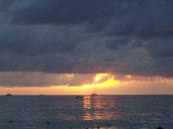 White Sands Negril: just another magnificent Negril sunset