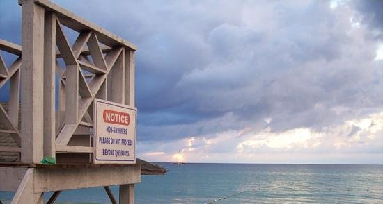 White Sands Negril: Randy the Lifeguard's Throne