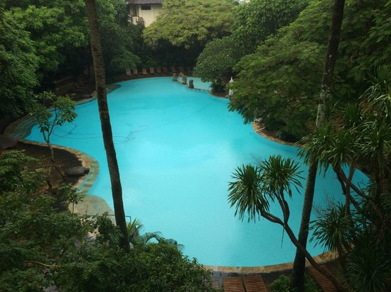 Hotel Kumala Pantai: Overlooking the Pool from Y Block
