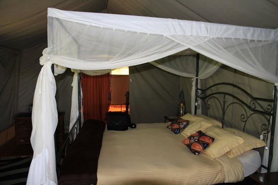 Tarangire River Camp : Doppelbett