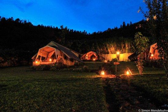 INZU Lodge: Safari tents