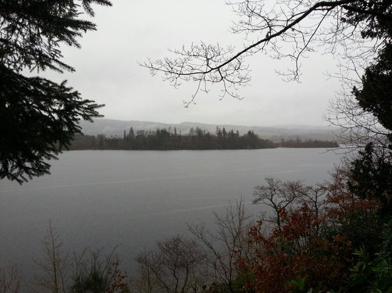 St Conan's Kirk: And the loch