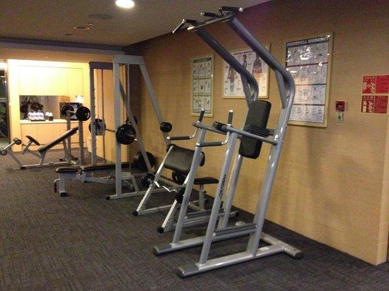 New World Dalian Hotel: Gym 3