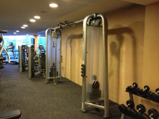 New World Dalian Hotel: Gym 7