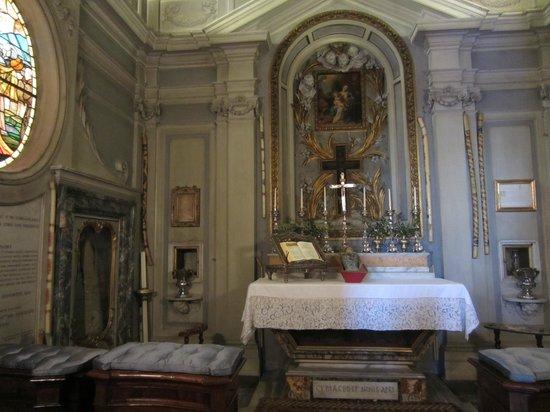 Galleria Colonna: The chapel