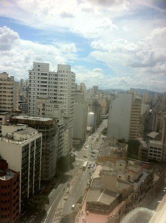 Ibis Budget Sao Paulo Sao Joao: Vista do 20º andar.