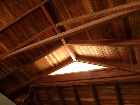 Aqua Wellness Resort: Beautiful wood ceilings