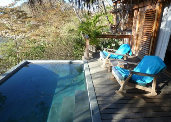 Aqua Wellness Resort: villa plunge pool