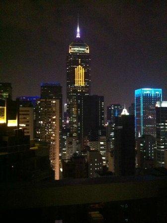Hotel Indigo Hong Kong Island: View from room