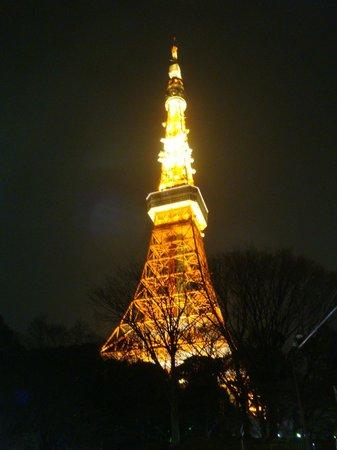 Tokyo Tower: La torre de noche